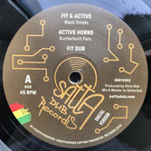 "BLACK OMOLO  Fit & Active / Remix  Label: Satta Dub (12"")"