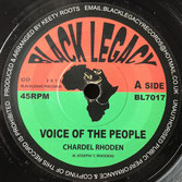 """CHARDEL RHODEN Voice Of The People (Black Legacy 7"""")"""