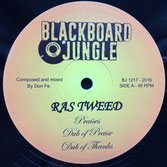 "RAS TWEED, JACKO  Praises / Farmer Song (Blackboard Jungle 12"")"