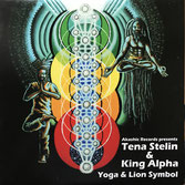"TENA STELIN & KING ALPHA  Yoga / Lion Symbol (Akashic 12"")"