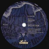 """DAN I, PAULO BALDINI  Salute / Dub  Label: La Tempesta Dub (7"""")"""