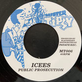 """ICEES  Public Prosecution / Version  Label: Mister Tipsy (7"""")"""