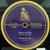 "DONOVAN JOSEPH, KAI DUB  House Of Gold / Dub  Label: Black Redemption (12"")"