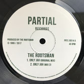 "THE ROOTSMAN, JAH MEEK  Only Jah (10"")"