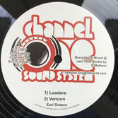 "EARL SIXTEEN, BUTTONS  Leaders / Brass  Label: Channel One (12"")"