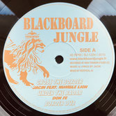 "HUMBLE LION, DON FE  Cross The Border / Steppa Mix  Label: Blackboard Jungle (12"")"