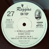 "BARRY ISSAC  Marcus Garvey / Dub  Label: Reggae On Top (10"")"
