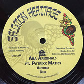 "ABA ARIGINALS ft PATRIXX MATICS Anthem / Camden Town (12"") Salomon Heritage"