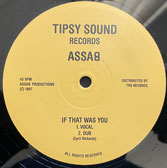 """ASSAB  I'm A Loner Girl / If That Was You  Label: Tipsy Sound/TRS (12"""")"""
