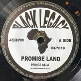 "PRINCE ALLA  Promise Land (Black Legacy 7"")"