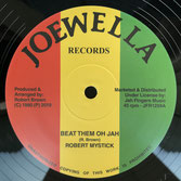 "ROBERT MYSTICK  Beat Them Oh Jah (12"")"