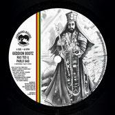 """RAS TEO & PABLO GAD  Geddion Bootz / Dub  Label: Forward Bound (7"""")"""