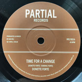 "DONETTE FORTE, DUB CRUSADERS  Time For A Change (Partial 7"")"