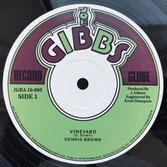 "DENNIS BROWN  Vineyard / Repatriation (10"")"