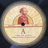 "SISTA ZARI & MIGHTY MASSA  Prophecy / Jah Jah Come  Label: Black Redemption (12"")"