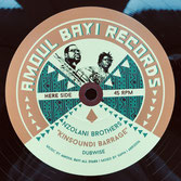 "NZOLANI BROS, GALAS  Kinsoundi Barrage / Liar & Thief  Label: Amoul Bayi (12"")"