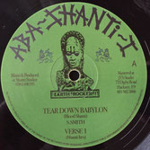 "BLOOD SHANTI Tear Down Babylon (Falasha Recordings 12"")"