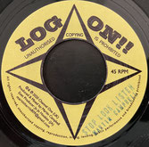 """MARTIN CAMPBELL  Stop Look Listen  Label: Log On (7"""")"""