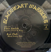 "FIKIR AMLAK & KAI DUB  Prophet, Priest & King / Mau Mau  Label: Blackheart Warrior (10"")"