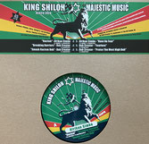"""AFRIKAN SIMBA, DC  Racism / Breaking Barriers / Have No Fear  Label: King Shiloh (12"""")"""