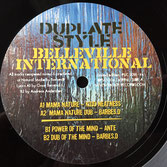 "BARBES D, KOJO NEATNESS, ANTE - Mama Nature / Power Of The Mind (10"") Belleville / Patate Records"