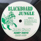 "KENNY KNOTS, DIXIE PEACH  Hard Work / What Have You Done (12"")"