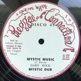 "HARD ROCK  Mystic Music / Jah Send Rain (12"")"