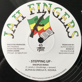"ALPHA & OMEGA ft NISHKA  Stepping Up (Jah Fingers 12"")"