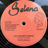 "PETER BROGGS, DEXTER McINTYRE  Jah Golden Throne / 144000 Saints (12"")"