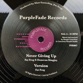 "DONOVAN KINGJAY, ADDIS PABLO  Never Giving Up / Melodica Cut  Label: PurpleFade (12"")"