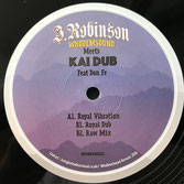 "J ROBINSON meets KAI DUB feat DON FE  Royal Vibration (WhoDemSound 12"")"