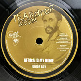 "JUNIOR ROY  Africa Is My Home (7"")"