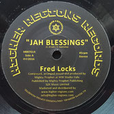 "Fred Locks - Jah Blessings (Higher Regions Records 7"")"