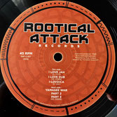 "MR ZEBRE ft EL FATA I Love Jah / Yamasee War (Rootical Attack 12"")"