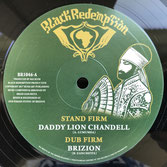 "DADDY LION CHANDELL, BRIZION  Stand Firm (10"")"