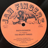 "THE MIGHTY THREES  Rasta Business / Sata (Jah Fingers 12"")"