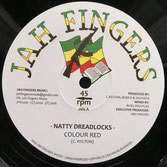 Colour Red - Natty Dreadlocks, I Am On A Mission Jah Fingers 12""