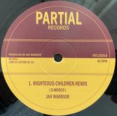 """JAH WARRIOR  RIGHTEOUS CHILDREN / REMIX  Label: Jah Warrior (10"""")"""