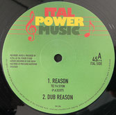 "TEZ FA SIYON, M.ITAL  Reason / Sadhu Tribe  Label: Ital Power (12"")"