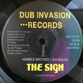 "HUMBLE BROTHER & JAH RAGGA  The Sign (7"")"