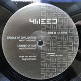 "MIGHTY PROPHET, BAODUB  Cradle of Civilization / Echo Cave  Label: 4Weed (12"")"