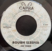 "JOE YORKE & MYSTICAL POWA  Rough Sleeper / Version  Label: Capra (7"")"