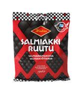 Salmiakkiruutu, Salmiak und Lakritz aus Finnland. Lakritz aus Schweden und Island, Isländische Lakritz