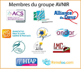 AVNIR LMC FRANCE sondage vaccination leucemie myeloide chronique cancer personne immunodeprinee ANDAR ACS ALLIANCE DU COEUR HTAP RENALOO