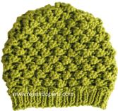 slouchy knit beret tejiendoperu.com