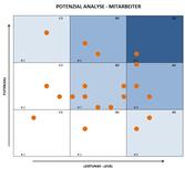 Excel Vorlage: Potenzial Analyse für Mitarbeiter