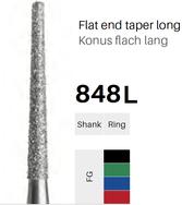 FG-Diamant 848L, Konus flach lang