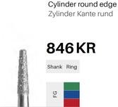 FG-Diamant 846KR, Zylinder Kante rund