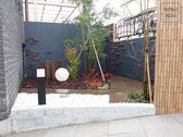 坪庭、ガーデニング、施工例