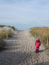 Strand Warnemünde beach Rostock